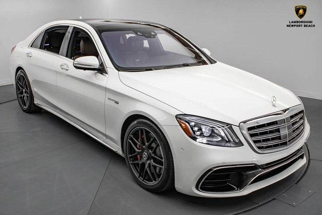 2018 Mercedes-Benz S-Class S63 AMG:24 car images available