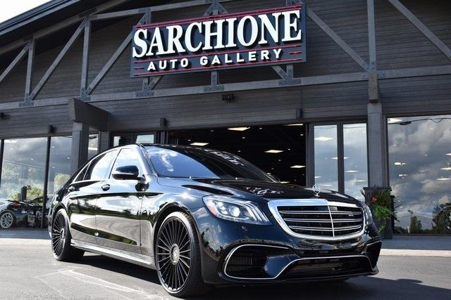 2020 Mercedes-Benz S-Class S63 AMG:24 car images available