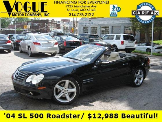 2004 Mercedes-Benz SL-Class :24 car images available