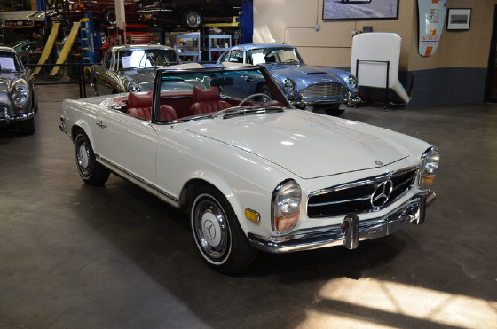1969 Mercedes-Benz SL-Class SL280:24 car images available