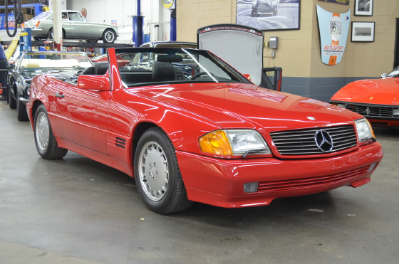 1991 Mercedes-Benz SL-Class SL300:10 car images available