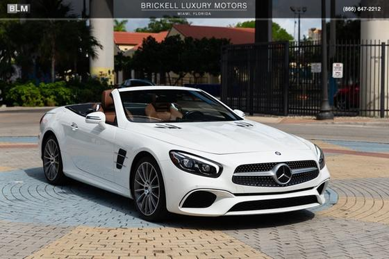 2017 Mercedes-Benz SL-Class SL450:24 car images available
