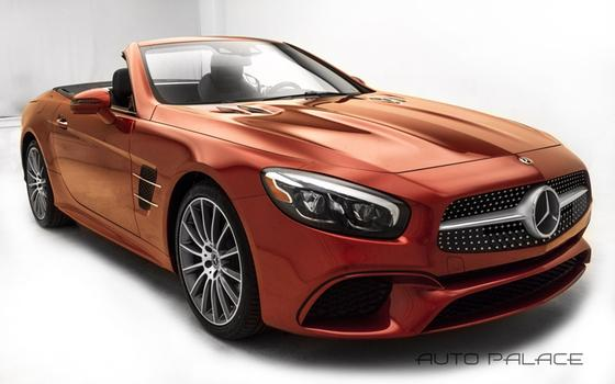 2018 Mercedes-Benz SL-Class SL450:24 car images available