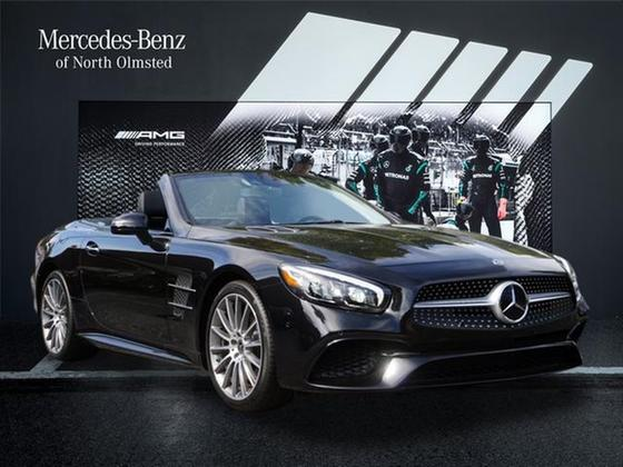 2019 Mercedes-Benz SL-Class SL450:18 car images available