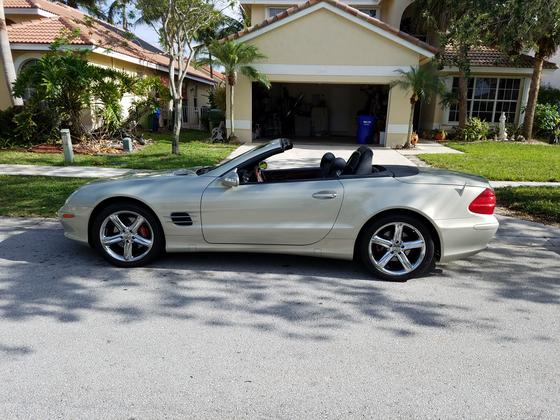 2003 Mercedes-Benz SL-Class SL500:12 car images available