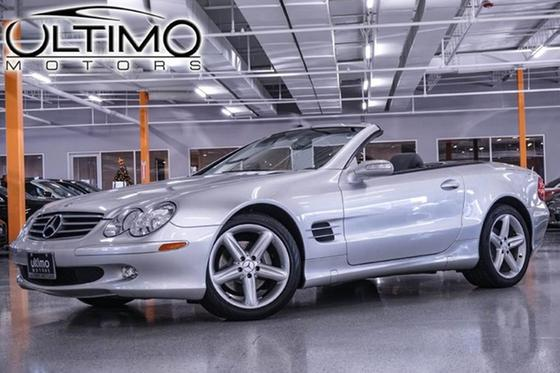 2004 Mercedes-Benz SL-Class SL500:24 car images available