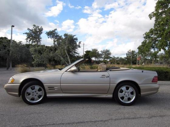 2002 Mercedes-Benz SL-Class SL500:24 car images available
