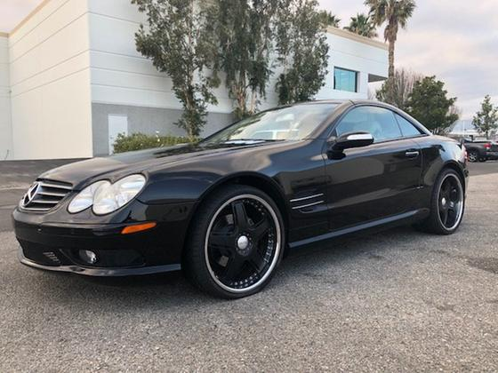 2005 Mercedes-Benz SL-Class SL500:16 car images available