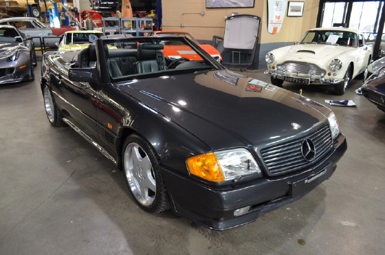 1990 Mercedes-Benz SL-Class SL500:24 car images available