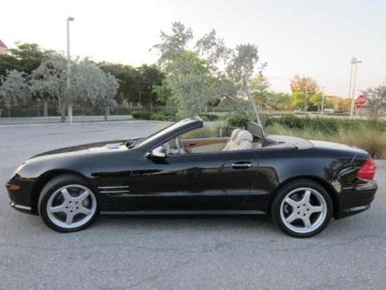 2003 Mercedes-Benz SL-Class SL500:22 car images available