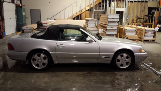 2000 Mercedes-Benz SL-Class SL500:3 car images available