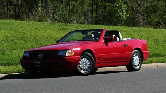1997 Mercedes-Benz SL-Class SL500:24 car images available