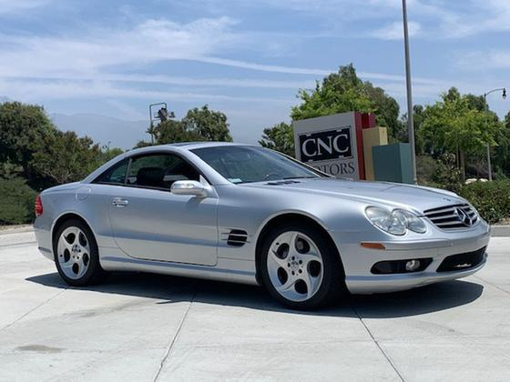 2004 Mercedes-Benz SL-Class SL500:20 car images available
