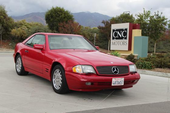 1998 Mercedes-Benz SL-Class SL500:24 car images available