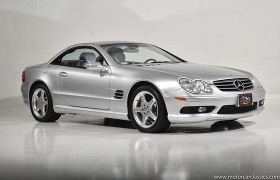 2003 Mercedes-Benz SL-Class SL500:24 car images available