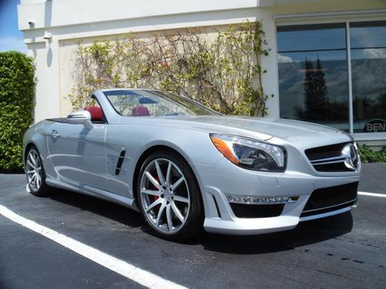 2013 Mercedes-Benz SL-Class SL55 AMG:12 car images available