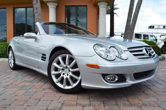 2007 Mercedes-Benz SL-Class SL550:24 car images available
