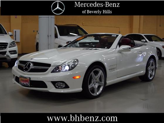 2009 Mercedes-Benz SL-Class SL550:19 car images available