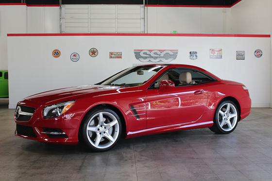 2013 Mercedes-Benz SL-Class SL550:9 car images available
