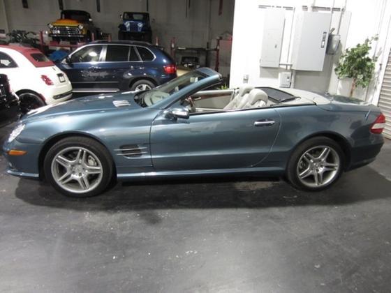 2007 Mercedes-Benz SL-Class SL550:19 car images available