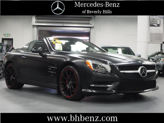 2016 Mercedes-Benz SL-Class SL550:19 car images available