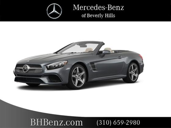 2019 Mercedes-Benz SL-Class SL550 : Car has generic photo