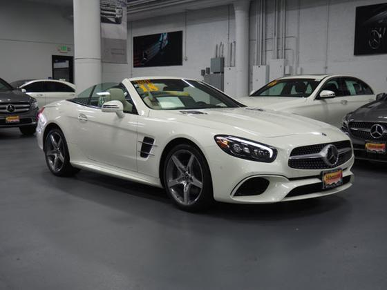 2018 Mercedes-Benz SL-Class SL550:20 car images available
