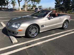 2007 Mercedes-Benz SL-Class SL550:6 car images available