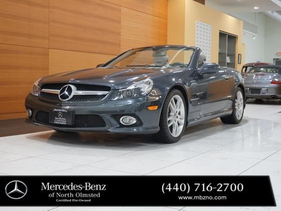 2009 Mercedes-Benz SL-Class SL550:24 car images available