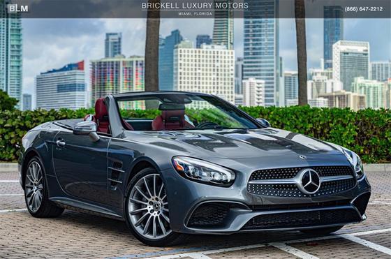 2018 Mercedes-Benz SL-Class SL550:24 car images available