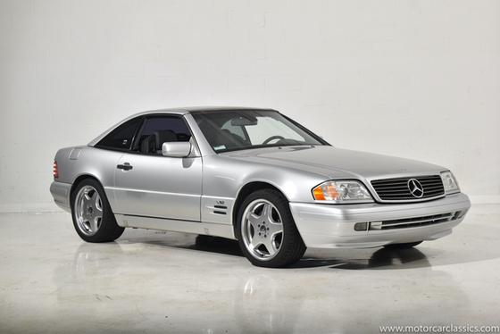 1997 Mercedes-Benz SL-Class SL600:24 car images available