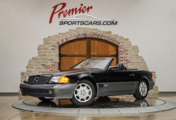 1993 Mercedes-Benz SL-Class SL600:24 car images available