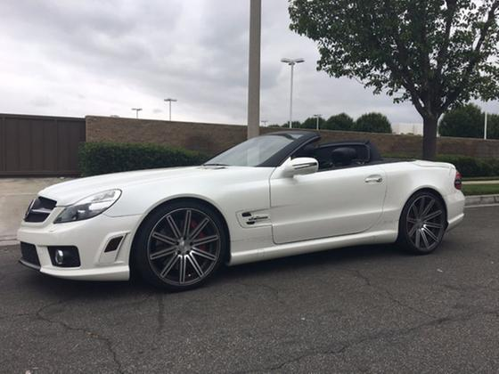 2009 Mercedes-Benz SL-Class SL63 AMG:16 car images available
