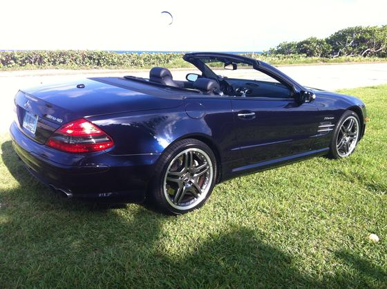 2008 mercedes benz sl class sl65 amg for sale in boca. Black Bedroom Furniture Sets. Home Design Ideas