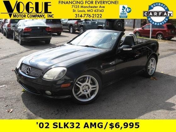 2002 Mercedes-Benz SLK-Class SLK32 AMG:24 car images available