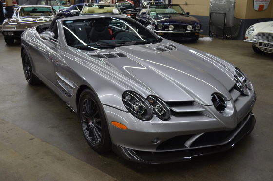 2009 Mercedes-Benz SLR-McLaren 722:12 car images available