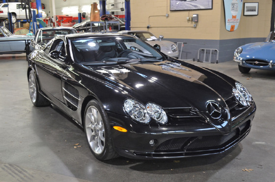 2005 Mercedes-Benz SLR-McLaren Coupe:16 car images available