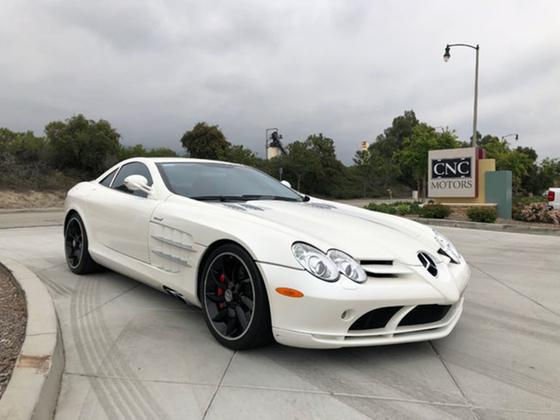 2006 Mercedes-Benz SLR-McLaren Coupe:8 car images available