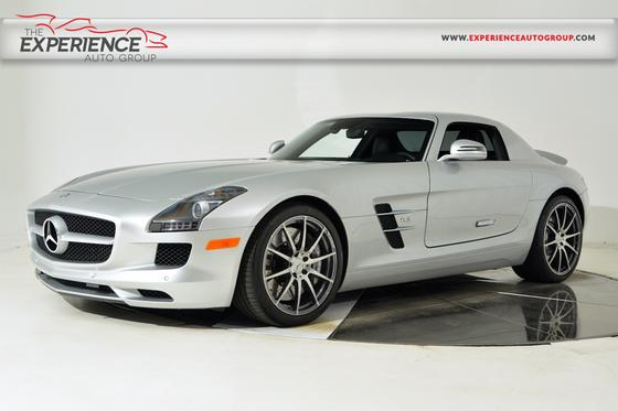 2011 mercedes benz sls amg coupe for sale in fort for Mercedes benz coupes list