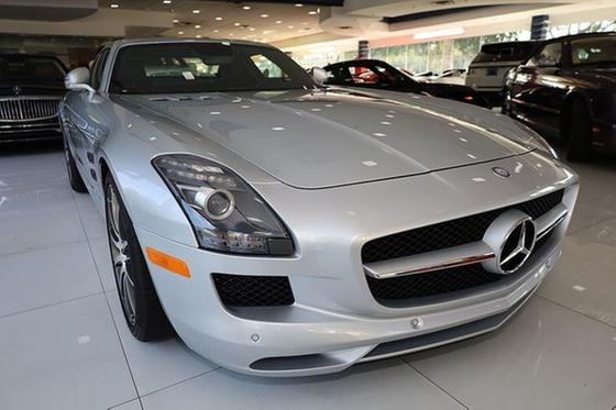 2011 Mercedes-Benz SLS AMG Coupe