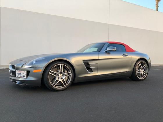 2012 Mercedes-Benz SLS AMG Roadster:19 car images available