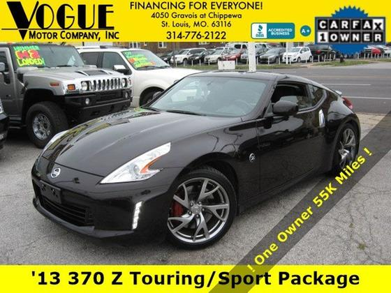2013 Nissan 370Z Touring:24 car images available