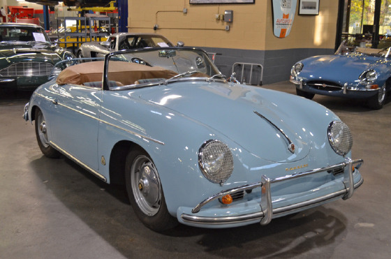1959 Porsche 356 A Convertible D:21 car images available