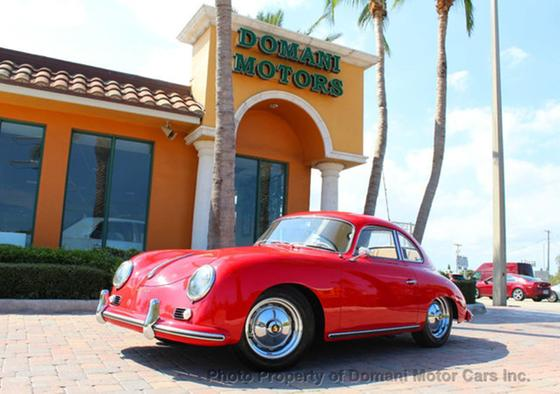 1957 Porsche 356 A Reutter Coupe:24 car images available