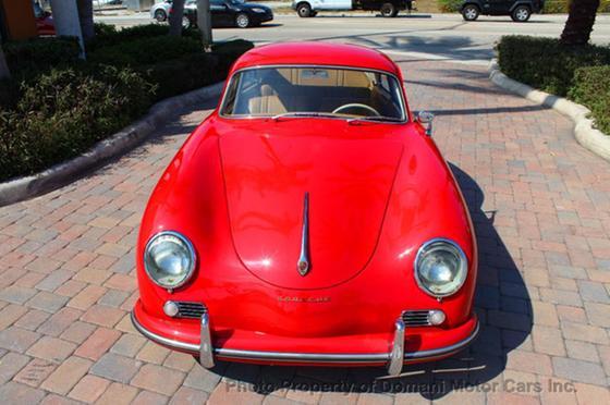 1957 Porsche 356 A Reutter Coupe