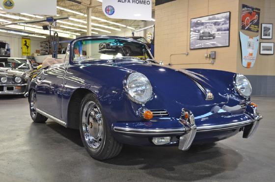 1964 Porsche 356 C Cabriolet:20 car images available
