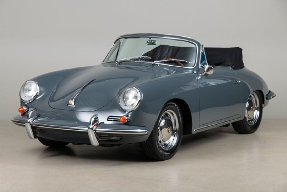1965 Porsche 356 C Cabriolet:9 car images available