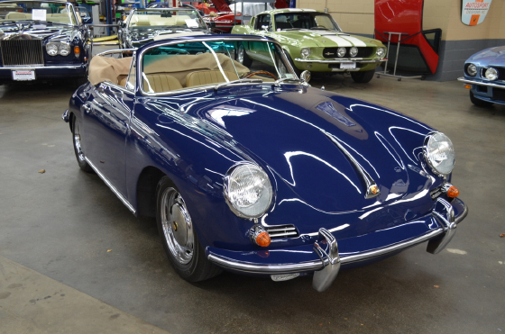 1964 Porsche 356 C Cabriolet:12 car images available