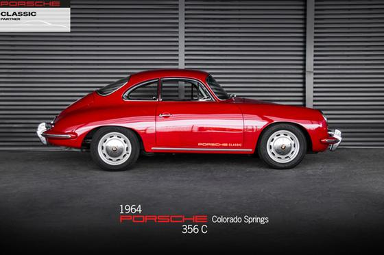 1964 Porsche 356 C Coupe:24 car images available