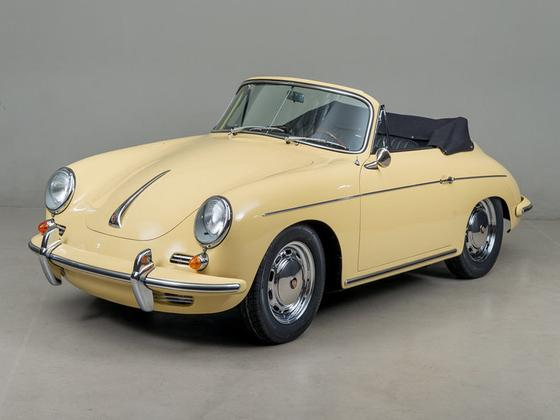 1965 Porsche 356 Cabriolet:12 car images available